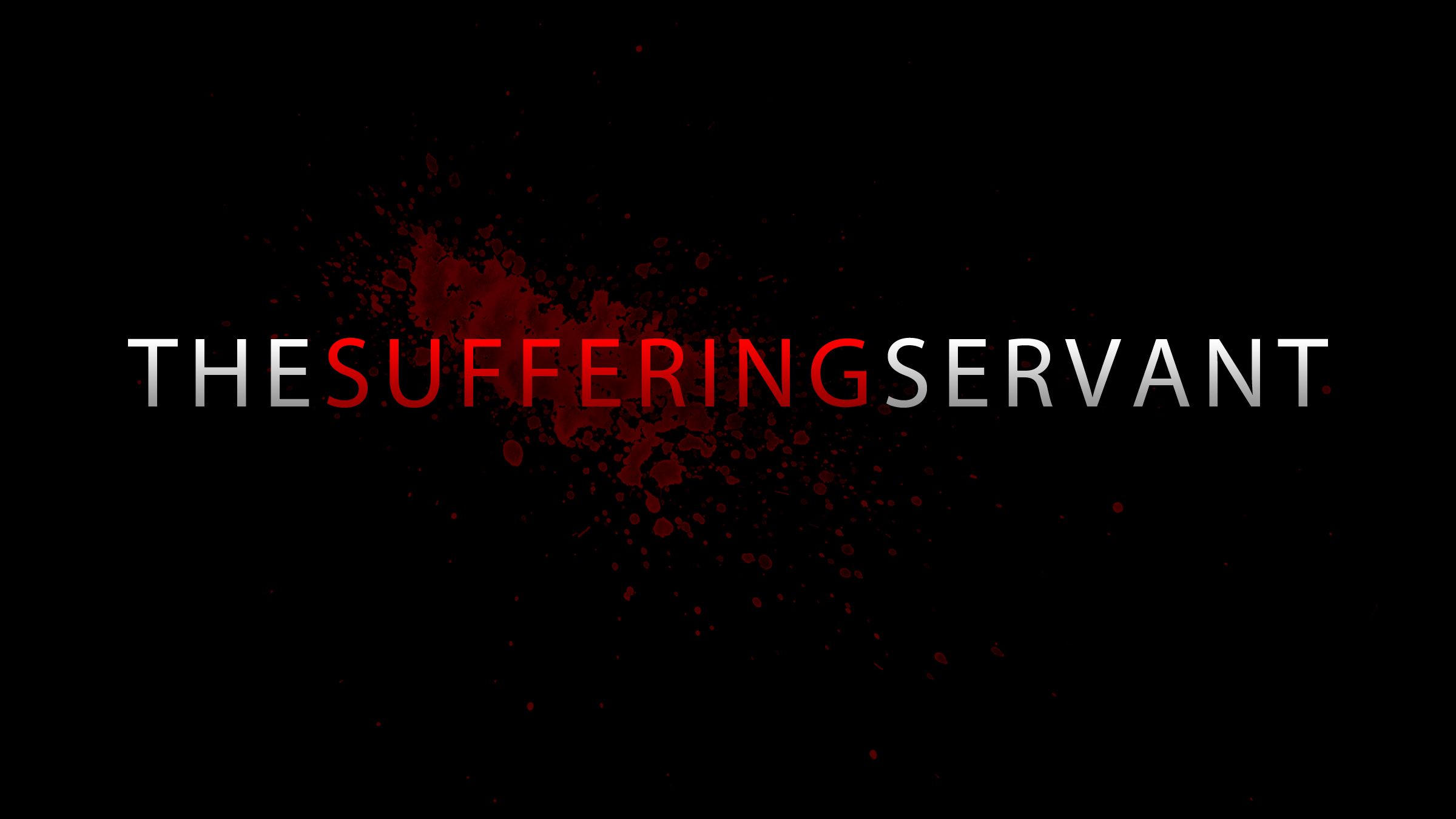 the suffering servant prophecied 600 years before he was born