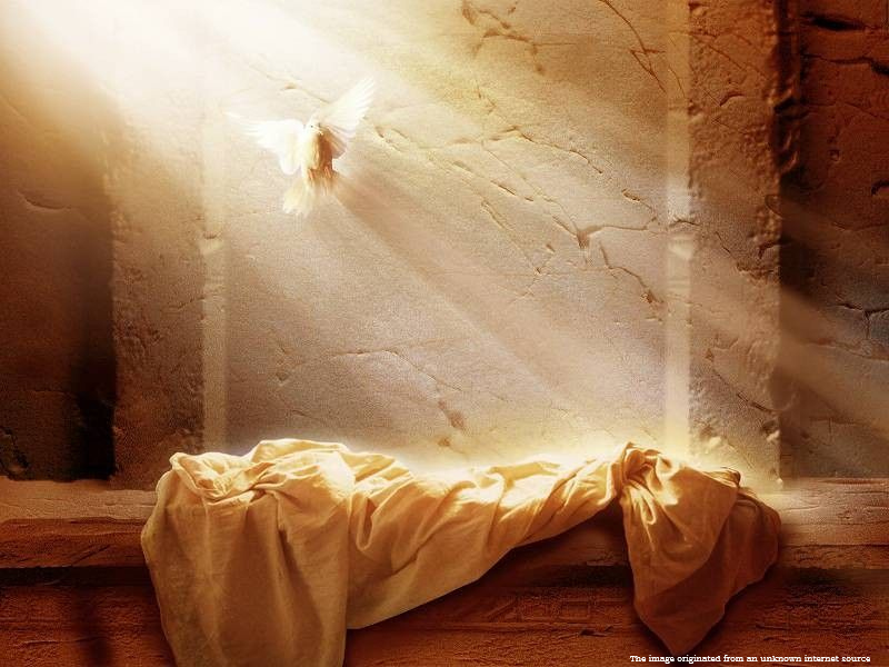 Jesus raised from the dead