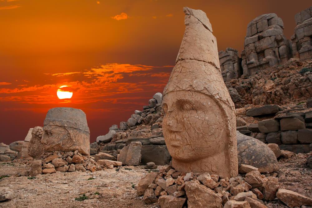 Mithras on Nemrut Mountains in Turkey